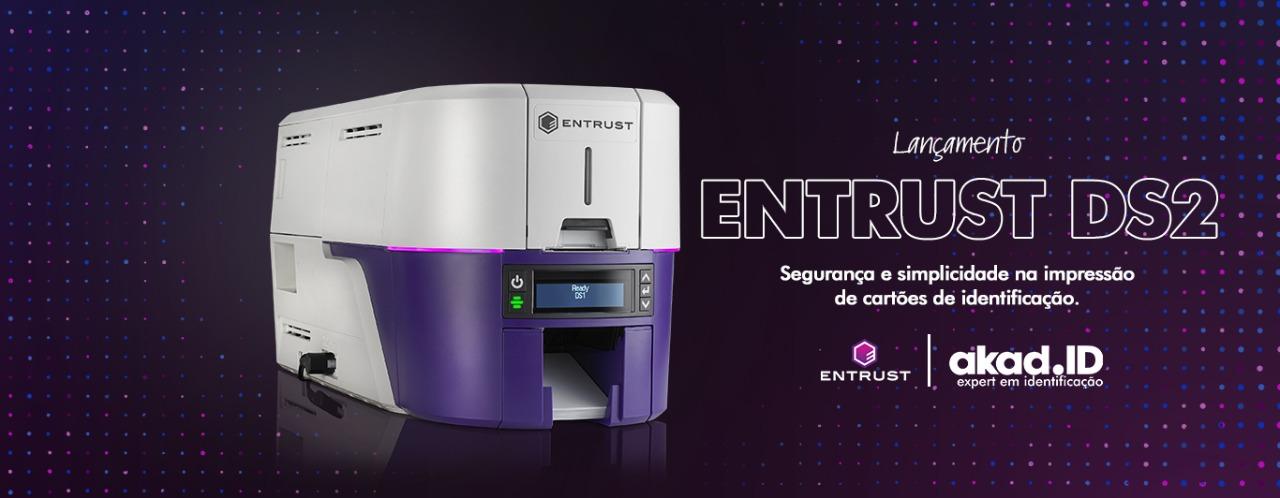 Akad lança a inovadora Entrust Sigma DS2 para impressão direta de cartões, crachás e credenciais seguras